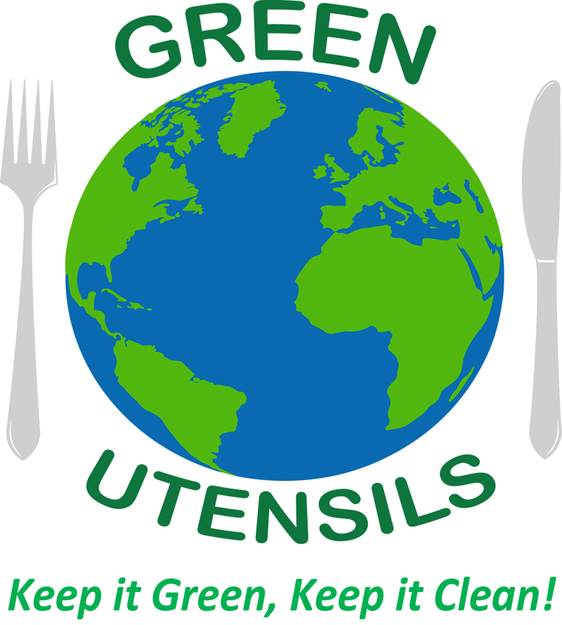 Green Utensils Logo